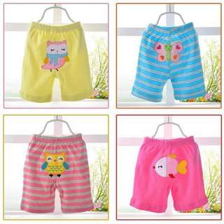 Baby Boys / Girls Short Pants (5 in 1)
