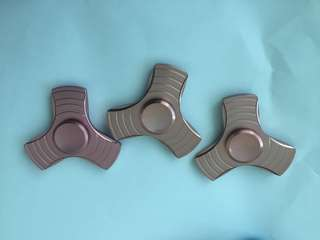 Rose Gold / Pink Metal Fidget Spinner