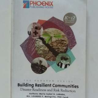 SHS Book - Building Resilient Communities (DRRR)