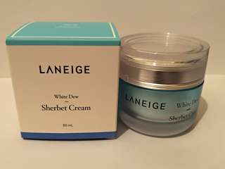 🈹🈹 laneige white dew sherbet cream 50ml