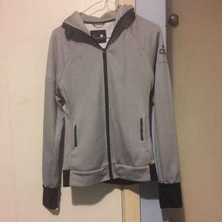 Size XS Adidas Grey Daybreaker Hoodie