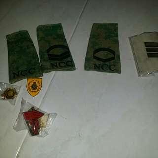 Ncc ranks&badges