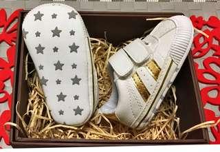 轉售 0-1歲新生兒學步造型鞋