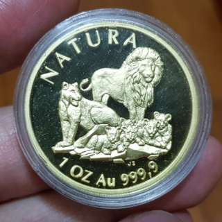 1994 South Africa 1 Oz Gold Proof Coin (Sharing Only)