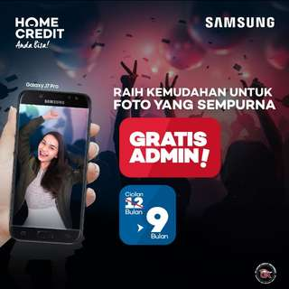 Samsung J5 Pro, Promo Cicilan 9 Bulan FREE ADMIN