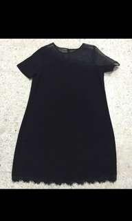 🆕 Zalora Black Lace Dress