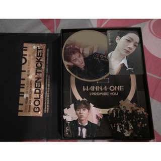 Full set Wanna One 2nd Mini Album - I.P.U. Night ver. unsealed