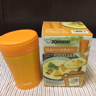 二手隨便賣 日本正品象印 悶燒罐 保溫瓶 保溫杯 副食品 食物罐360ml