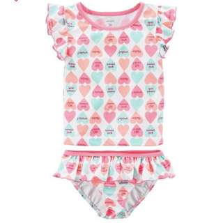 Carter's baby girl swimsuit