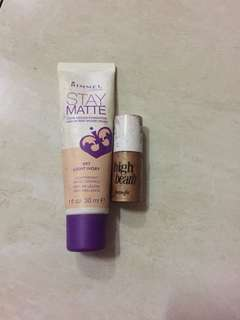 Rimmel Mouse Foundation & Benefit High Beam