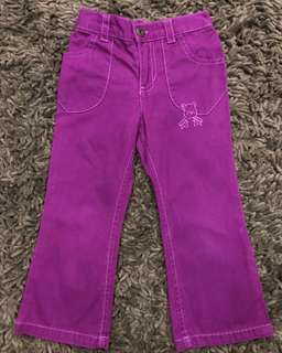 Girls Pants Disney authentic 100%