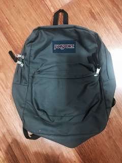 Grey Jansport Backpack