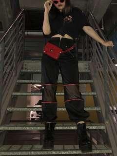 INSTOCKS i am gia inspired gwen mesh pants