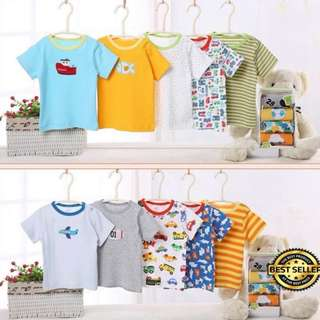 Baby Boys / Girls T-Shirt (5 in 1)