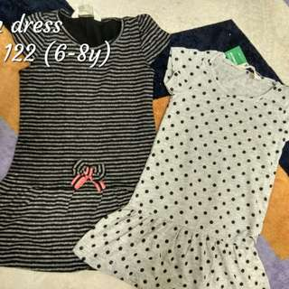 Dress H&M girl baby 12m to 8y