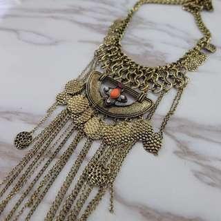 Kalung Panjang bahan bronze