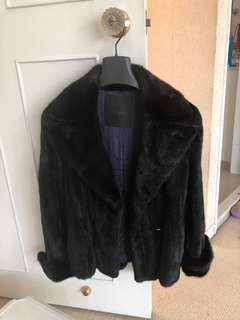 Fendi real fur jacket