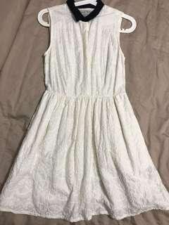 Jack wills 白色連身裙