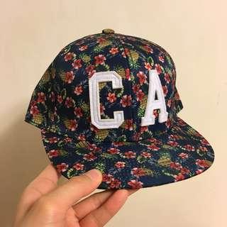 碎花cap帽