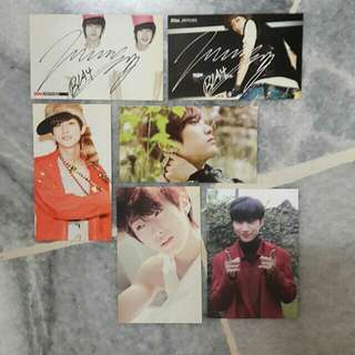 B1A4 Jinyoung official album photocards