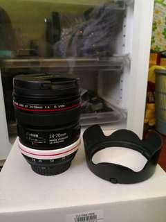 Canon EF24-70mm F/4 is L usm lens