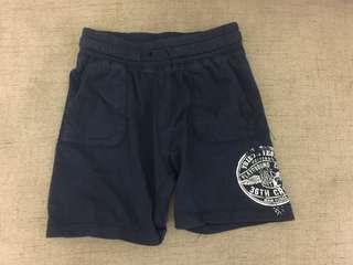 H&M男童深藍短褲