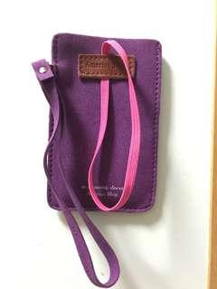 韓國全新紫色小袋