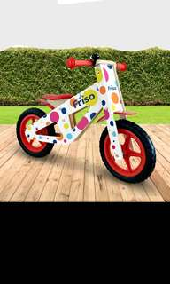 [Brand New] Kids Wooden Balancing Bicycle