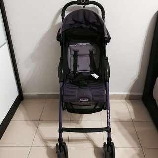 Combi F2 PLUS (Purple) Lightweight Stroller