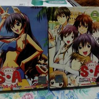 Special A Class anime DVD