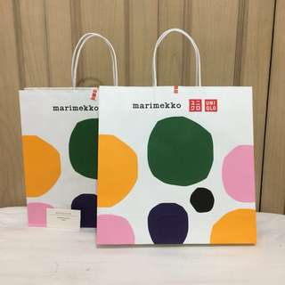 PAPERBAG BRANDED PAPERBAG AUTHENTIC PAPERBAG UNIQLO Marimekko