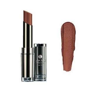 Lakme - matte lipstick in deep caramel
