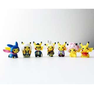 Pokemon Center Tokyo DX Opening Gashapon Cosplay Pikachu Figure (Pre-Order)