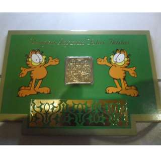 Singapore Mint's Garfield's Selamat Hari Raya Adil Fitri Greetings Card
