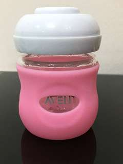 Avent silicon glass bottle sleeve