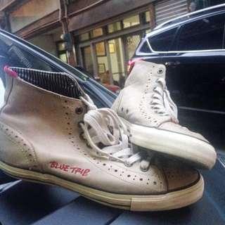 🚚 EDWIN真皮高筒帆船鞋