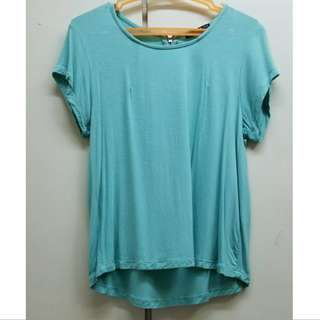Cotton On Teal T Shirt Crop top