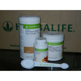 Herbalife Start now pack - Cappuccino (550g) + Tea Mix (50g)