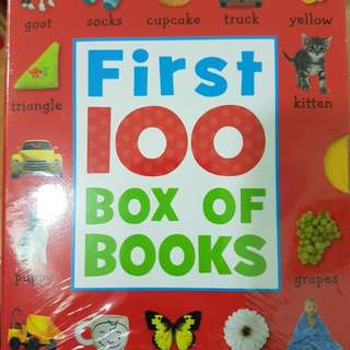 First 100 Box of Books