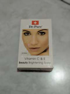 Sabun Dr pure brithening soap