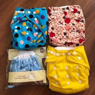 BN Reusable Diapers