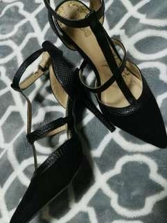 Black Valentino Inspired Shoes