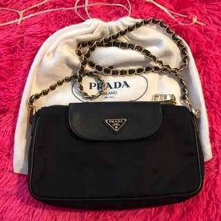 Prada Tessuto Saffiano Sling Bag