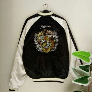 Sukajan Dragon Tradisional jaket