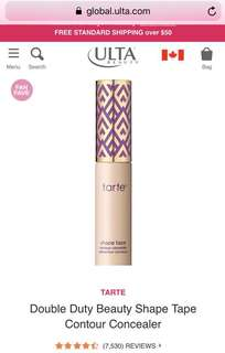 Tarte Shape Tape Concealer in LIGHT SAND