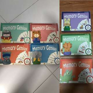 Tensai Shichida Memory Genius Flash Cards