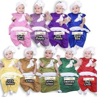RORA MINI KURUNG Raya Eid Bridesmaid Baju Melayu Girl Baby Babies