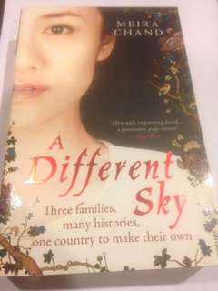 A Different Sky by Meira Chand (against the backdrop of Singapore in 1927)