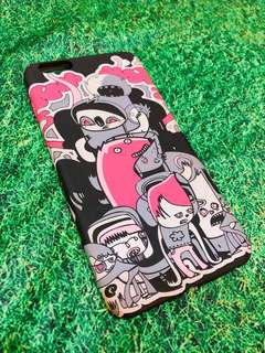 iPhone 6 Plus Black & Pink Casing