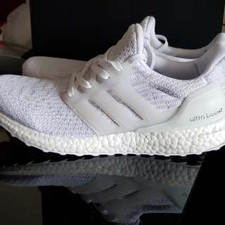 Adidas Ultra Boost 3.0 Triple White (AUTHENTIC)